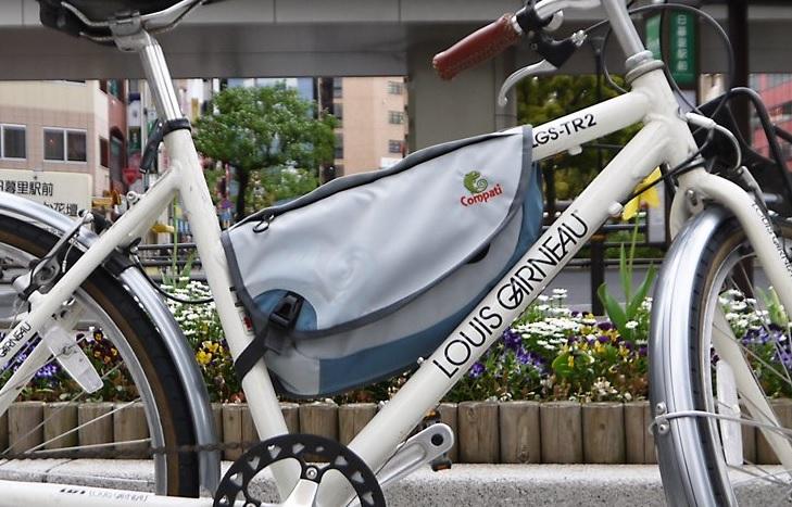 自転車によってはドリンク ... : 自転車 バッグ フレーム : 自転車の